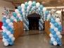 Balloon Decorating Xmas 2014