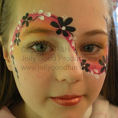 Flower Face Painting Designs For Kids Images amp Pictures Becuo