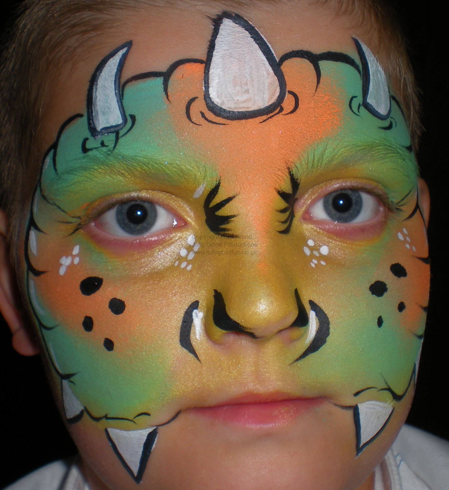 The Boogyman Face Painting Ideas