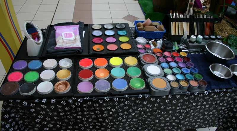 The importance of working with a clean face painting kit for Professional painting supplies