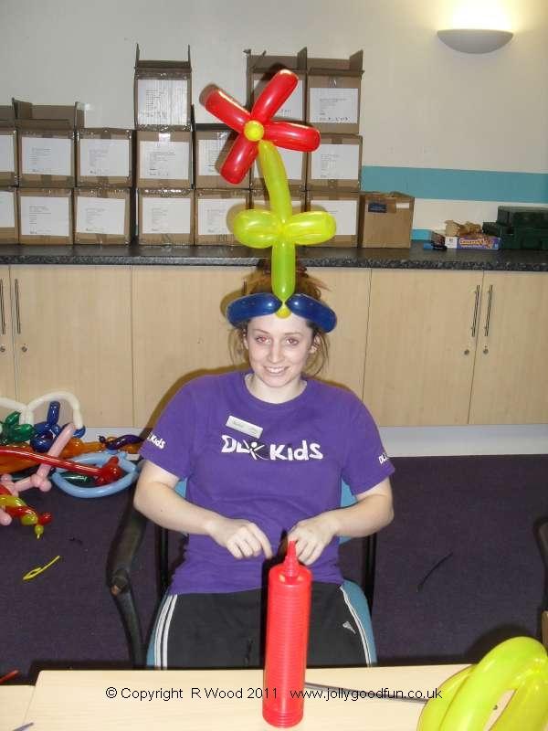 Balloon modelling course