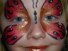 red-butterfly face