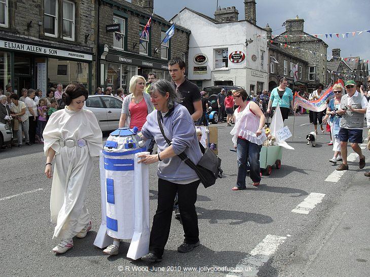 Hawes Gala Parade 2010