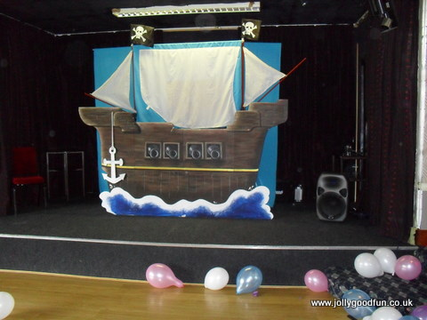 Pirate Show at a birthday party