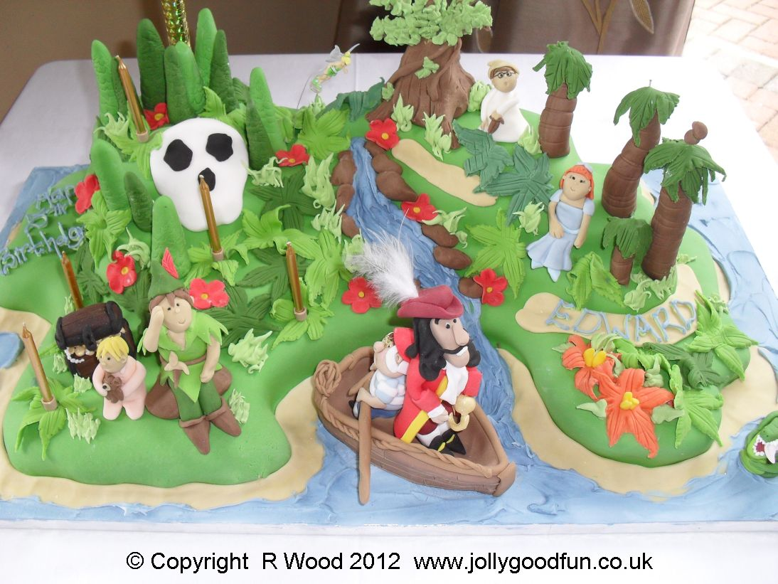 Neverland Birthday Cake Jolly Good Productions Blog