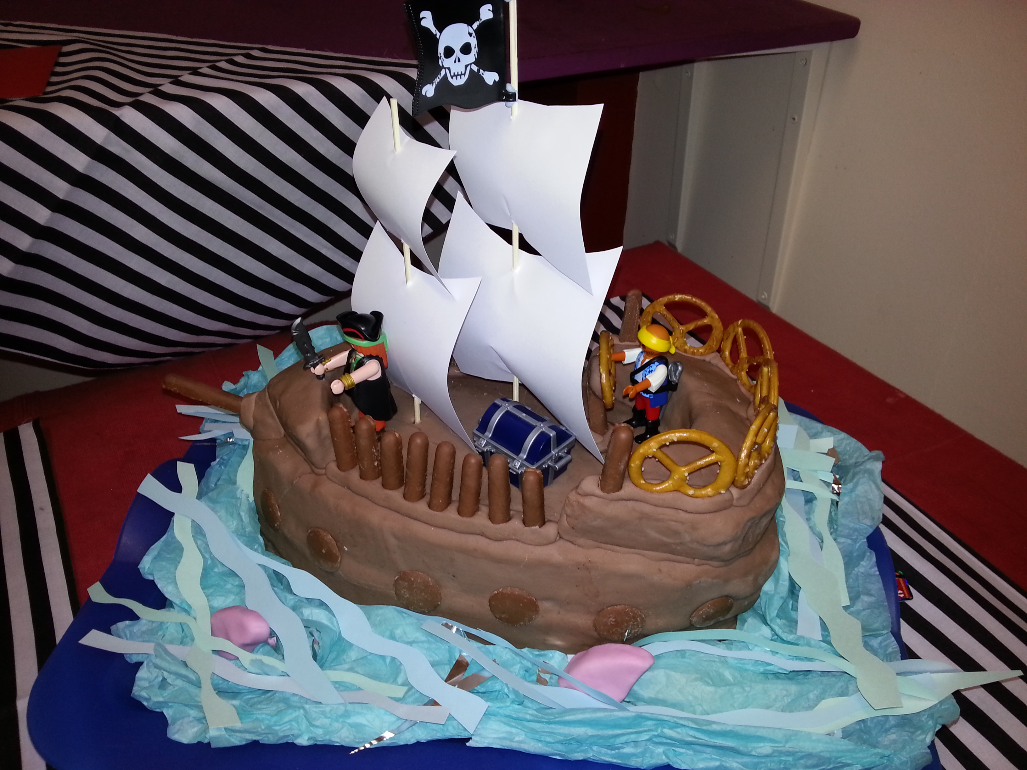 Cake Designs Pirate Ship : Pirate Birthday Cake ( York ) Jolly Good Productions (Blog)