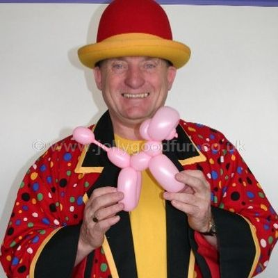 Balloon Modeller Entertainer Ron Wood