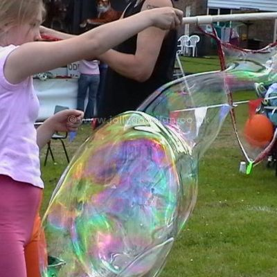 Bubble making workshop