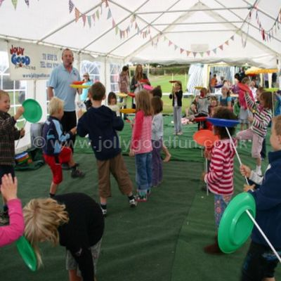 Circus Skills at an event