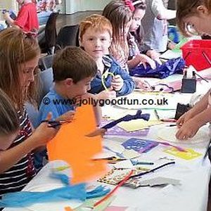 Children's craft workshop activity