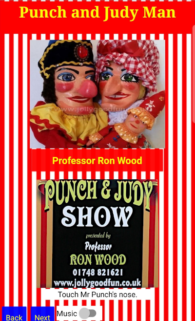 Punch and Judy Man Phone App