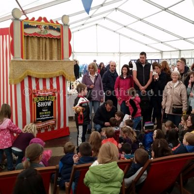Punch and Judy at Beamish Museum