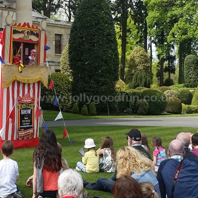 Punch and Judy at Brodswoth Hall