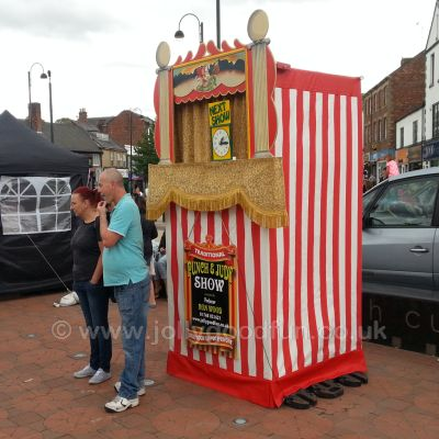 Punch and Judy in Chester Le Street