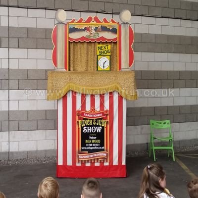 Punch and Judy at the Dome, Doncaster