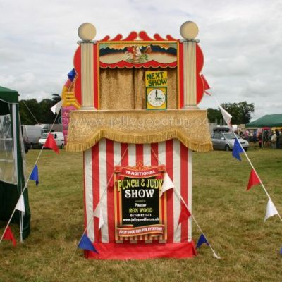 Punch and Judy at Malton Show, North Yorkshire