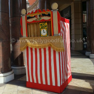 Punch and Judy at Trafford Centre