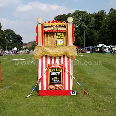 Punch and Judy at Pocklington