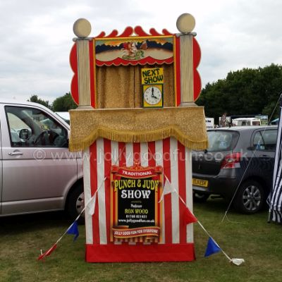 Punch and Judy show in Sheffield