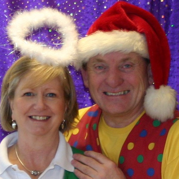 Christmas Party Entertainers, Ron and Hazel Wood