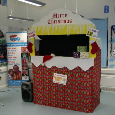 Puppet theater, Xmas show