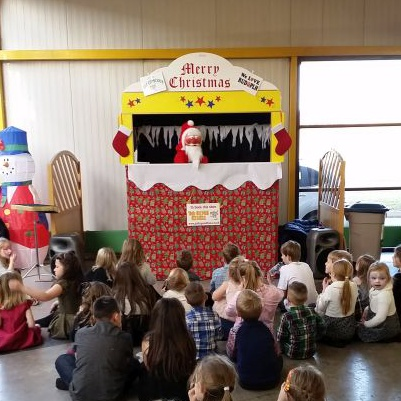Puppet theater in Peterlee